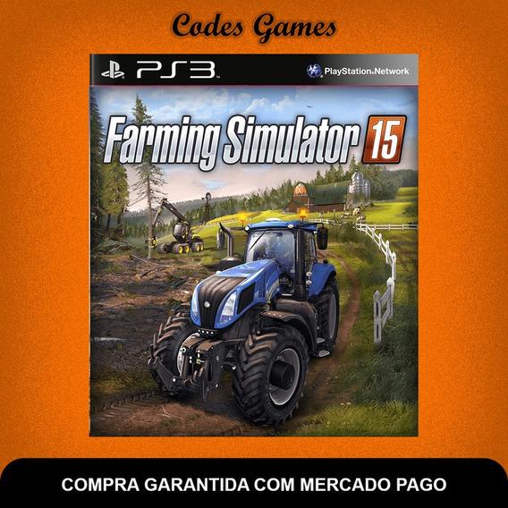 Farming Simulator 2015 - Ps3 - Pronta Entrega