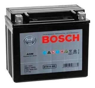 Bateria Moto Kasinski Mirage 250/650 12v 12ah Bosch Btx12-bs