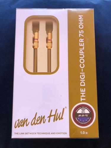 Cable Coaxial Digital Rca Van Den Hul The Digi-coupler 1 Mt