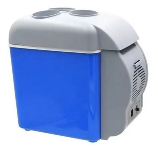 Mini Geladeira Cooler Veicular Esfria Aquece 2 Em 1 7,5l