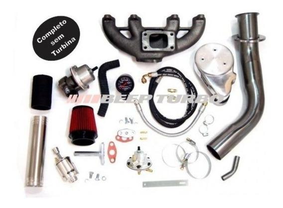 Kit Turbo Completo Vw Ap 1.6 1.8 2.0 Sem Turbina + Brindes