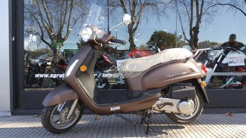 Sym Fiddle Ii 150 Scooter Blanco 2020