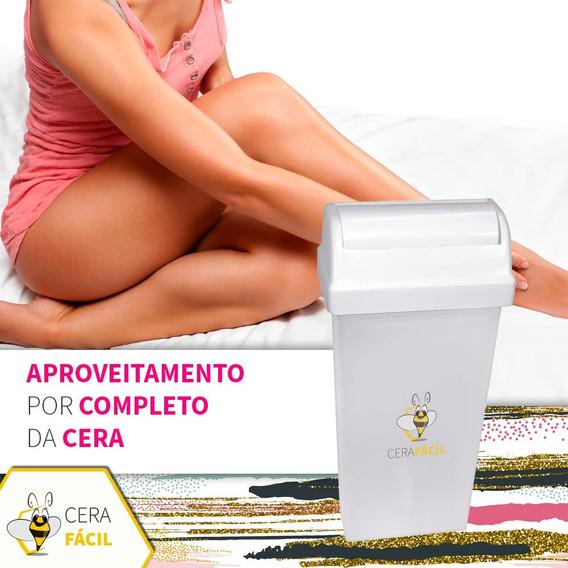 Refil Plástico Vazio Para Cera Roll-on Santa Clara 10un