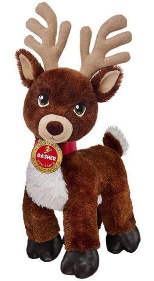 Peluche Dasher Reno De Santa Claus De Build A Bear 38 Cms