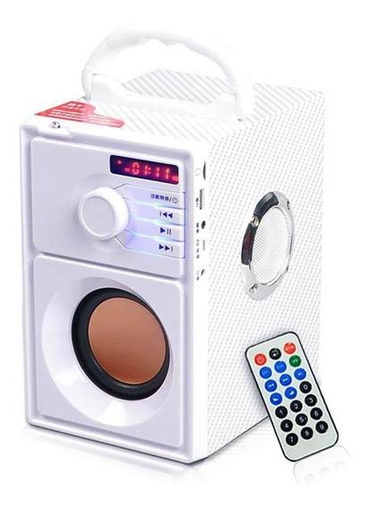 Caixa De Som Bluetooth 100w Sd Fm Usb Aux - Xdg-27 Branco