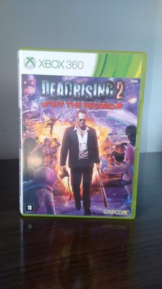 Dead Rising 2: Off The Record - Xbox 360, Mídia Física