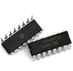Cd4017 Circuito Integrado Cd4017be (100 Unidades)