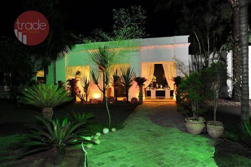Chácara Com 2 Dormitórios À Venda, 5000 M² Por R$ 2.200.000,00 - Recreio Internacional - Ribeirão Preto/sp - Ch0088