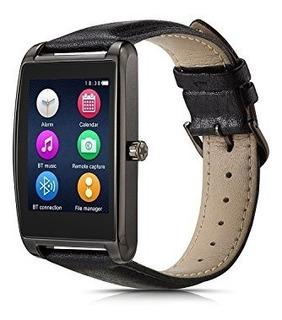 Le Pan 16 Touchscreen Smartwatch Para Android Y Ios Gunmetal