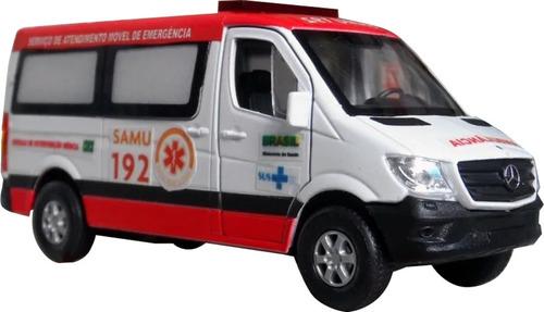 Miniatura Viatura Ambulância Samu 192