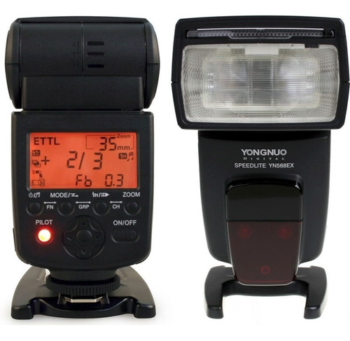 Flash Yongnuo Yn-568 Ex Iii Nikon Canon Ttl Factura Garantia