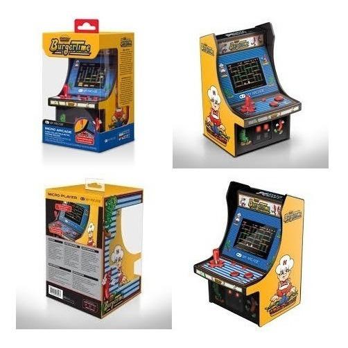 Mini Console My Arcade Game Burguer Time 320 Retro Arcade