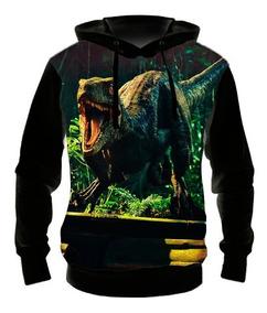 Blusa Moletom Infantil Jurassic World 2 - 02 Casaco De Frio