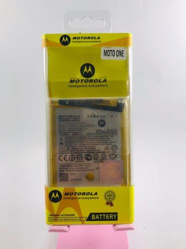 Imagen 1 de 1 de Bateria Original Para Celular Moto One