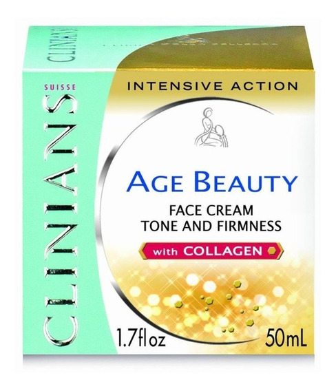 Creme Clinians Age Beauty Intensive Action 50 Ml.