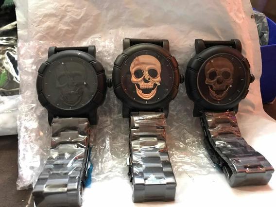 Relojes De Calavera Skull