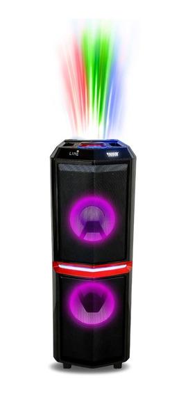 Mini System Portátil Com Bluetooth E Bateria Novik Neo Thun