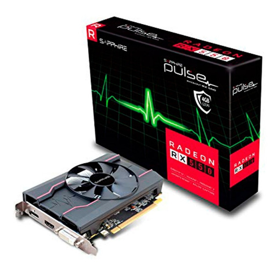 Placa De Video Amd Sapphire Radeon Rx 550 Pulse 4g Ddr5