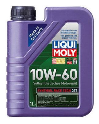 Aceite De Motor Liqui Moly 1 Litro 10w60 Sintetico Synthoil