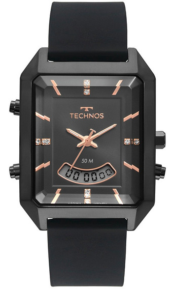 Relógio Technos Feminino Digital Preto T200ai/2p