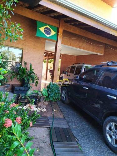Imagem 1 de 15 de Sobrado Com 3 Dormitórios, 220 M² - Venda Por R$ 950.000,00 Ou Aluguel Por R$ 4.500,00/mês - Chácara Rodrigues - Americana/sp - So0034