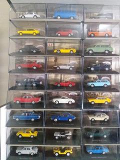 Coleção Com 30 Carros Inesquecíveis Do Brasil Escala 1/43