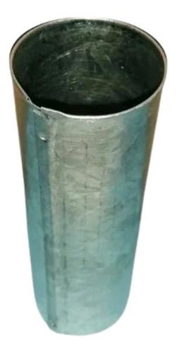 Molde Para Velas De Chapa Galvanizada Circular 4cmx13cm
