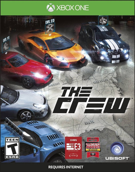 Game Xbox One The Crew - Novo - Original - Lacrado