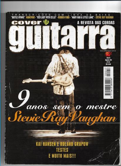 Cover Guitarra 57 Revista Stevie Ray Vaughan