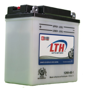 Bateria Para Moto 12n9-4b-1 Lth Nuevo