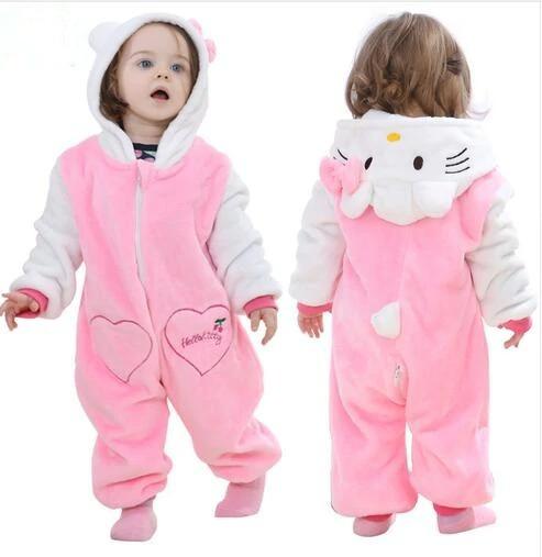 Macacão Bebê Hello Kitty Frio 18 Á 24 Meses