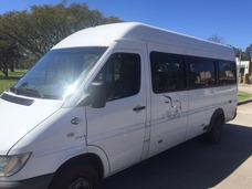 Minibus Mercedes Sprinter Turísmo Pasajeros Con Stu