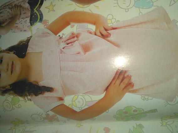 Vestido Niña Rosa Claro