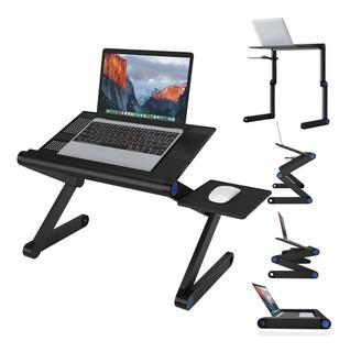 Soporte Ajustable Para Laptop Plegable Para Escritorio Con