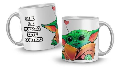 Mugs Personalizados Star Wars Tazas Regalos Geek Personajes