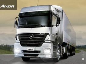 Mercedes Benz Axor 2036 S/36 Okm 2018 Totalmente Financiado!