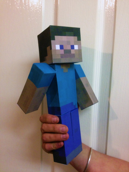 Muñecos Minecraft - Kit Imprimible Minecraft Para Armar