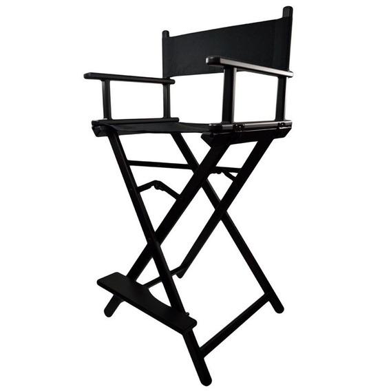 Cadeira Diretor Maquiador Cinema Alta Frete Gratis