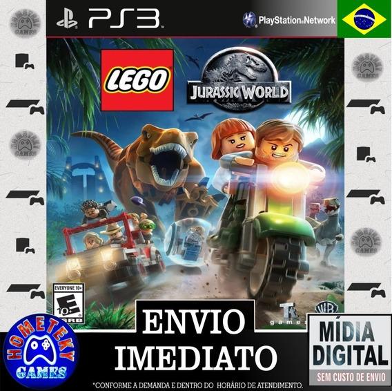 Lego Jurassic World O Mundo Dos Dinossauros - Psn Ps3