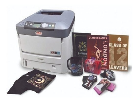 Impressora Oki C711wt Toner Branco+estabilizador