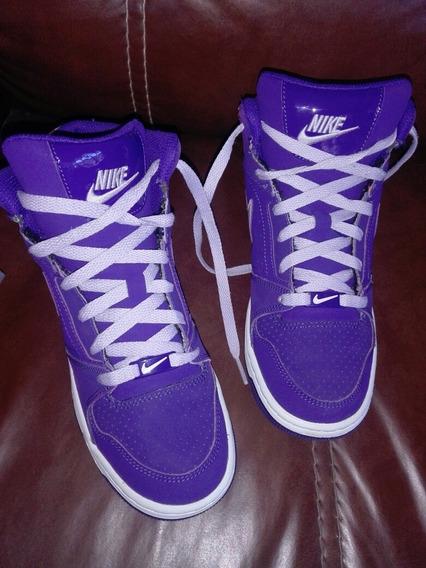 Tenis Nike Prestige Iv High 24 Cm Purple/pink Jordan Lebron