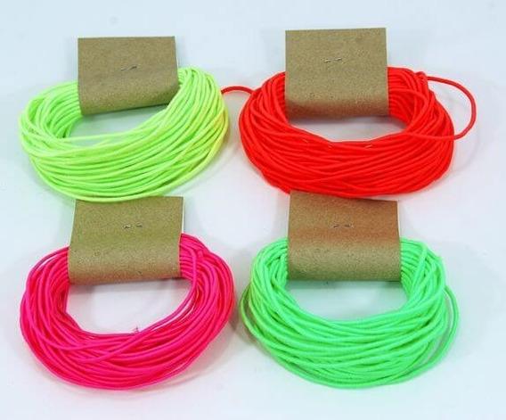 Cordón Sintético Fluor 2mm - X 10 Metros - Solo Verde