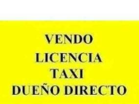 Licencia Taxi Caba - Dueño Directo.