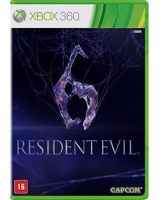 Jogo Resident Evil 6 Xbox 360 Português Novo Frete 10,00 Br