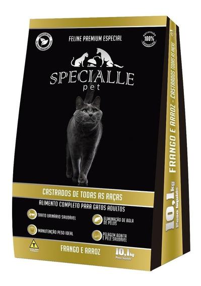 Ração Specialle Pet Feline Castrado Frango 10,1kg