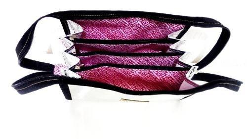 Bolsinha Feminina Organizadora De Maquiagem Sew Together Bag