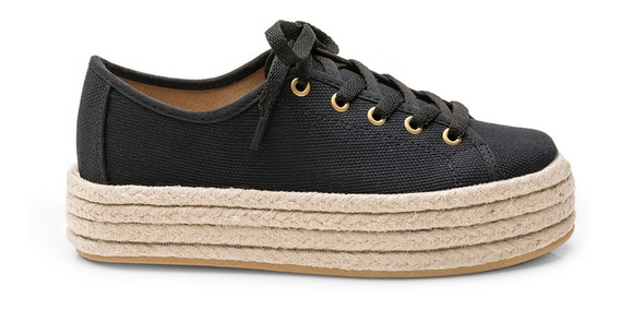 Sneakers Plataforma Classic Negra - Chimmy Churry