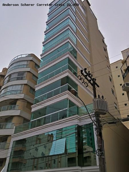 Apartamento Para Temporada Em Itapema, Meia Praia, 3 Suítes, 3 Banheiros, 2 Vagas - Mf101_1-746539