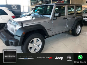 Jeep Wrangler 3.6 Unlimited At 0km 2018