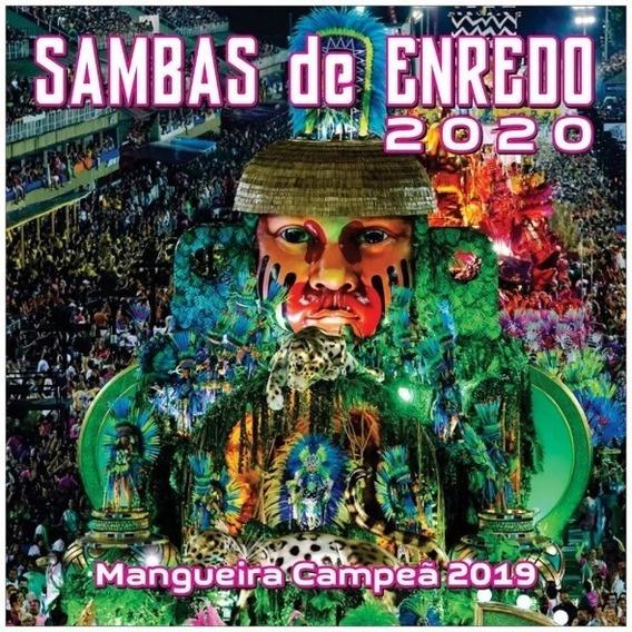 Cd Sambas De Enredo 2020 Rio De Janeiro (original E Lacrado)